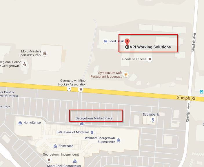Google Maps – Georgetown – VPI Working Solutions on
