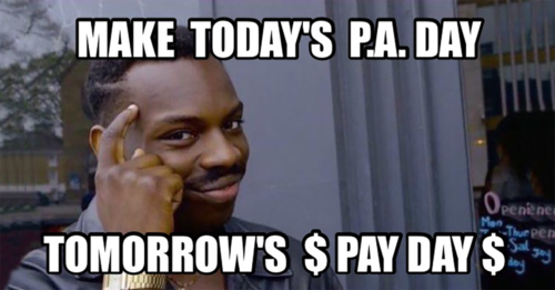Student Job Fair meme