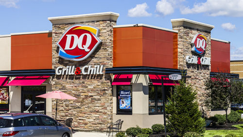 Dairy Queen Retail Fast Food Location