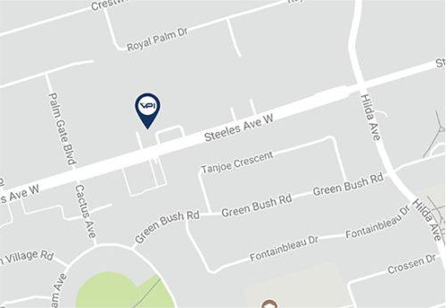 VPI Vaughan, 398 Steeles Ave West, Unit 5 & 6, Vaughan, ON L4J 6X3