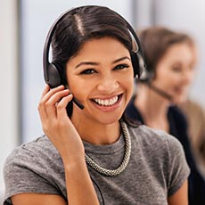Call centre job icon