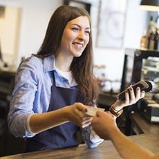 Customer service rep job icon