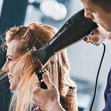 Hair stylist job icon