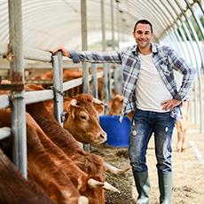 Farm hand job icon