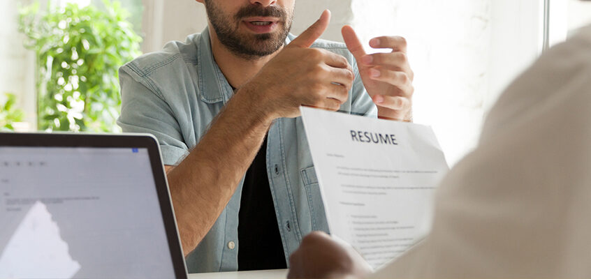 Success Story: Resume support and confidence building